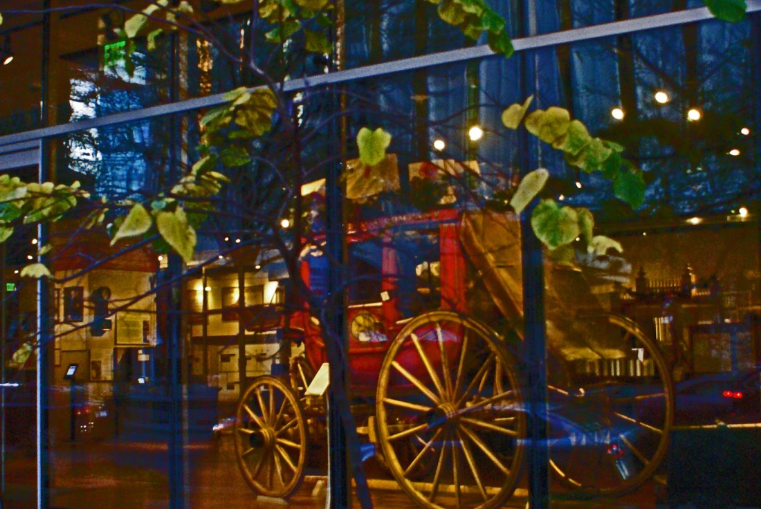 Stagecoach at Wells Fargo Museum