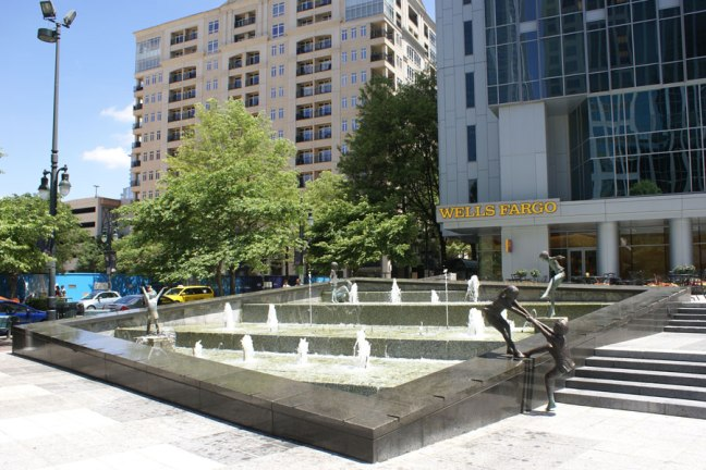 Two Wells Fargo Plaza, a playful sort of place.