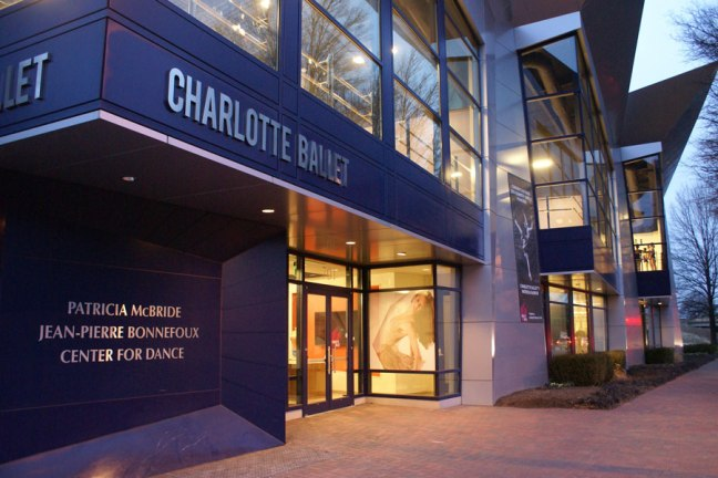 The Charlotte Ballet Academy in Uptown Charlotte