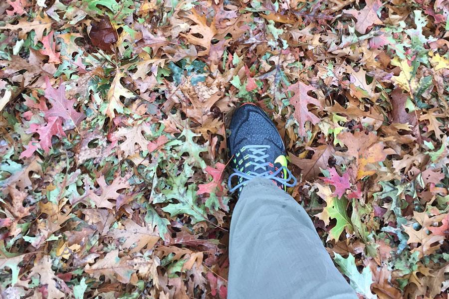right foot