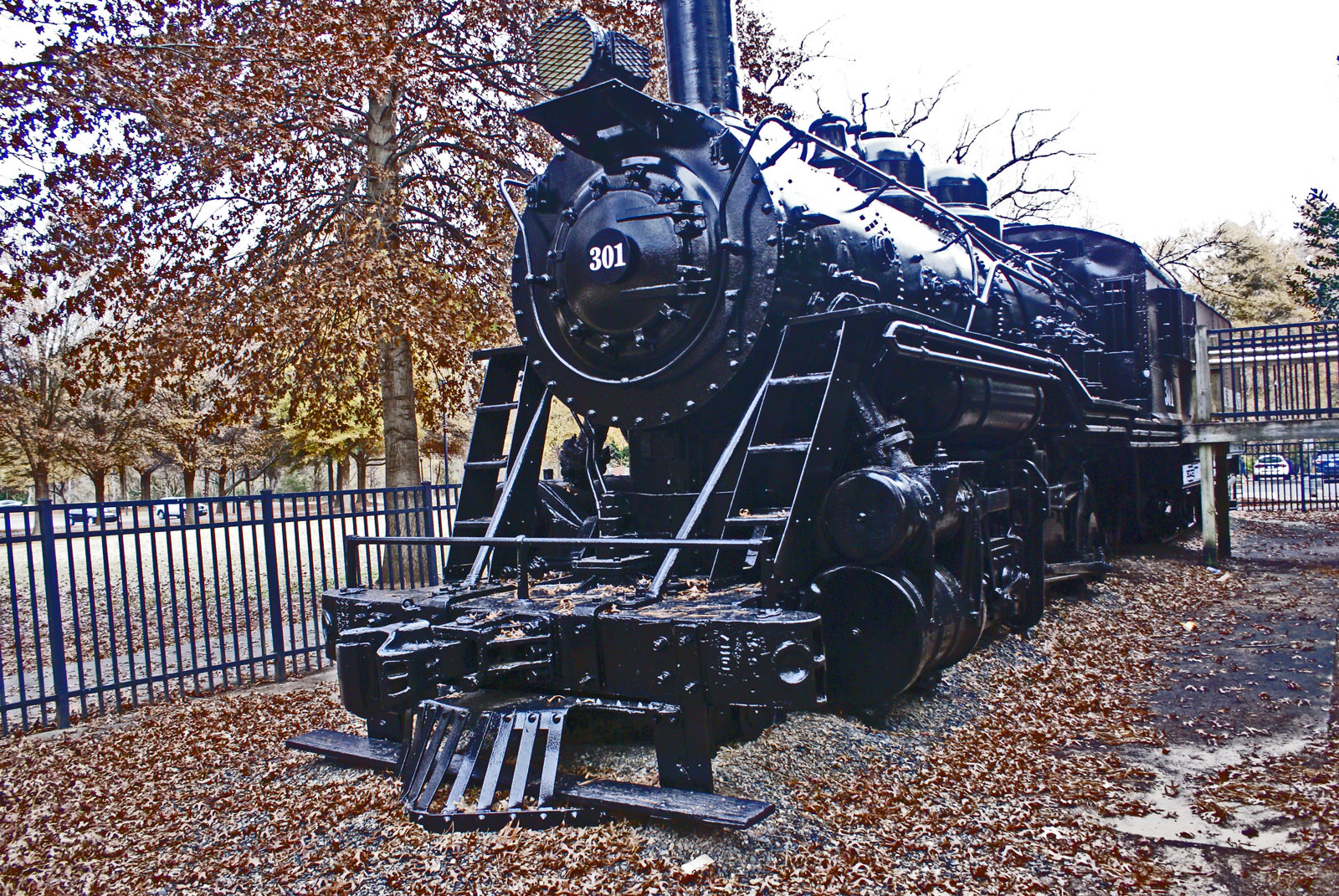 train in Freedom Park