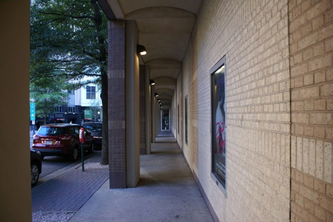 Passage with depth in Uptown Charlotte