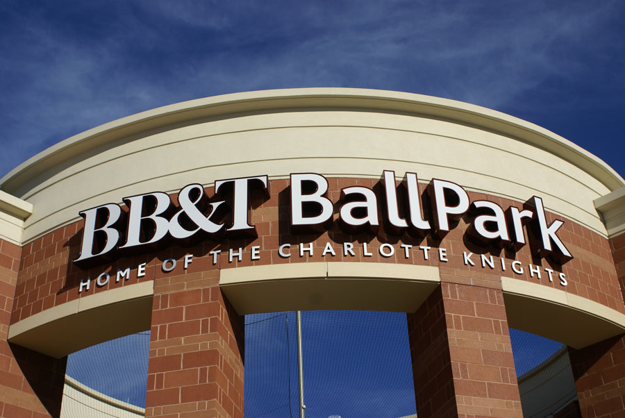 The BB&T BallPark in Uptown Charlotte