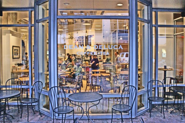 On Saturday morning we enjoy breakfast at Dean and Deluca