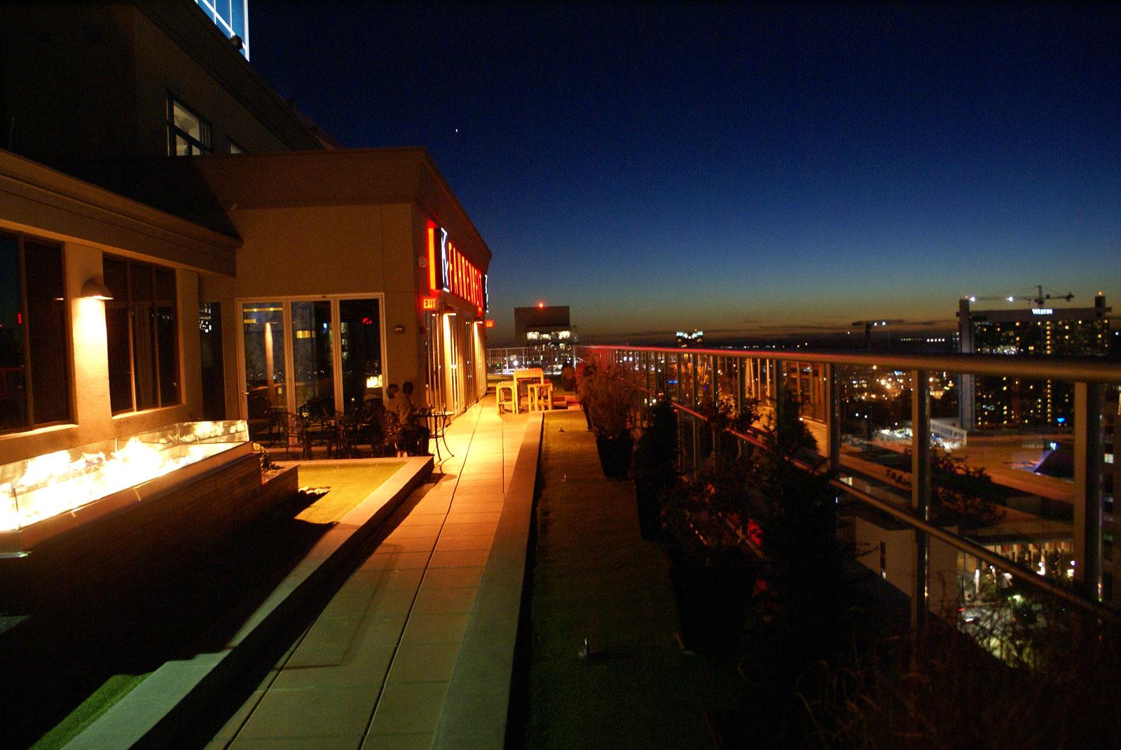 Fahrenheit rooftop lounge