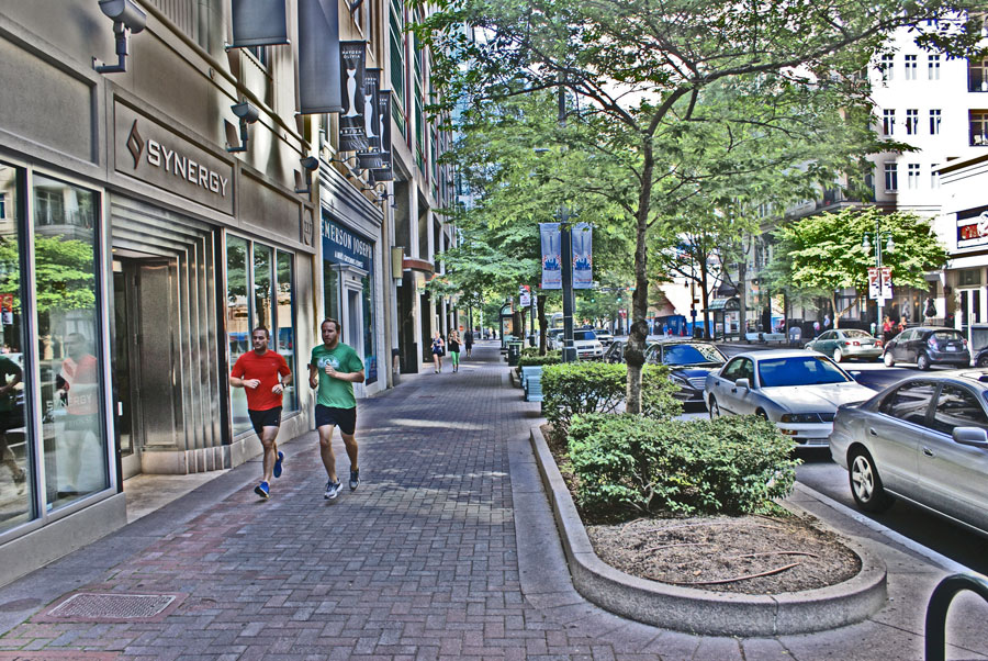 encountering synergy; Jogging past Synergy Coverage Solutions in Uptown Charlotte